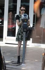 EMMA ROBERTS and Garrett Hedlund Out Shopping in Los Angeles 08/26/2019