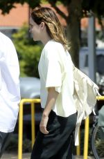EMMA WATSON Leaves Superba Cafe in Santa Monica 08/13/2019