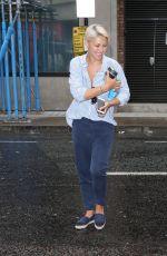 EMMA WILLIS Arrives Zoe Ball Breakfast Show in London 08/05/2019