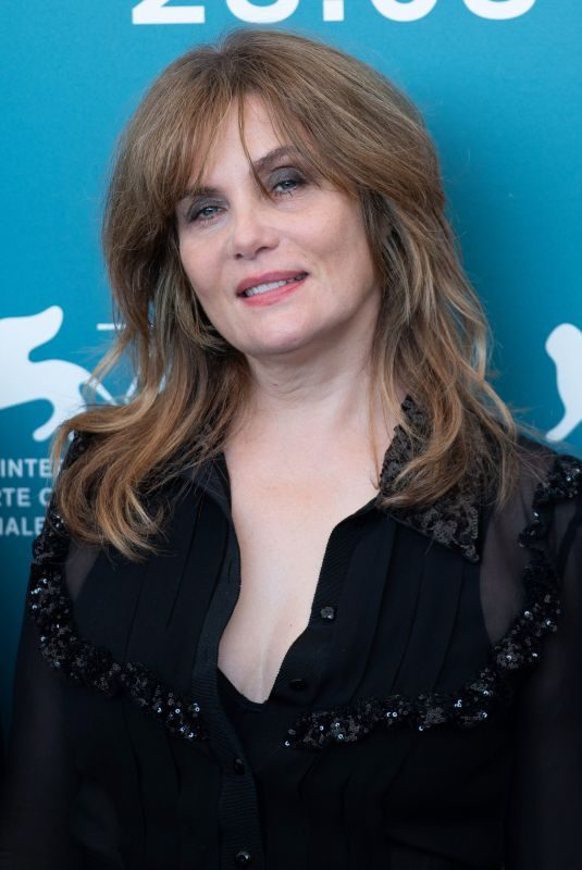 EMMANUELLE SEIGNER at An Officer and a Spy Photocall at 76th Venice Film Festival 08/30/2019