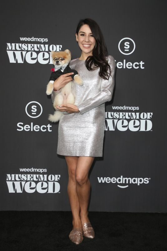 ERIKA DE LA CRUZ at Weedmaps Museum of Weed Exclusive Preview Celebration in Hollywood 08/01/2019