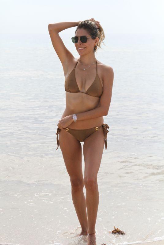 EVA MARCELA in Bikini at a Beach in Miami 08/12/2019