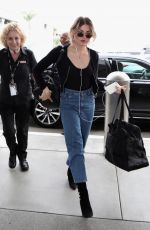 FRANCES BEAN COBAIN at LAX Airport in Los Angeles 07/30/2019