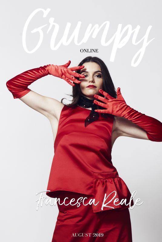 FRANCESCA REALE in Grumpy Magazine, August 2019
