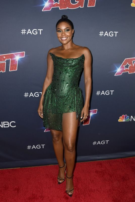 GABRIELLE UNION at America's Got Talent, Season 14 Live Show in Hollywood 08/13/2019