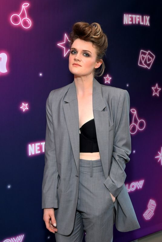 GAYLE RANKIN at Glow, Season 3 Special Screening in West Hollywood 08/06/2019
