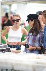 GENEVIEVE HANNELIUS Shopping at Farmer