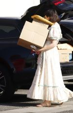 GENNIFER GOODWIN at a Shipping Store in Los Angeles 08/14/2019