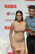 GEORGINA RODRIGUEZ at Cristiano Ronaldo Receives 2019 Marca Legend Award in Madrid 07/29/2019