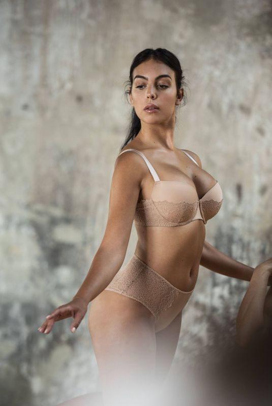 GEORGINA RODRIGUEZ foe Yamamay Fall 2019 Inclusiveness and Body Positivity Campaign