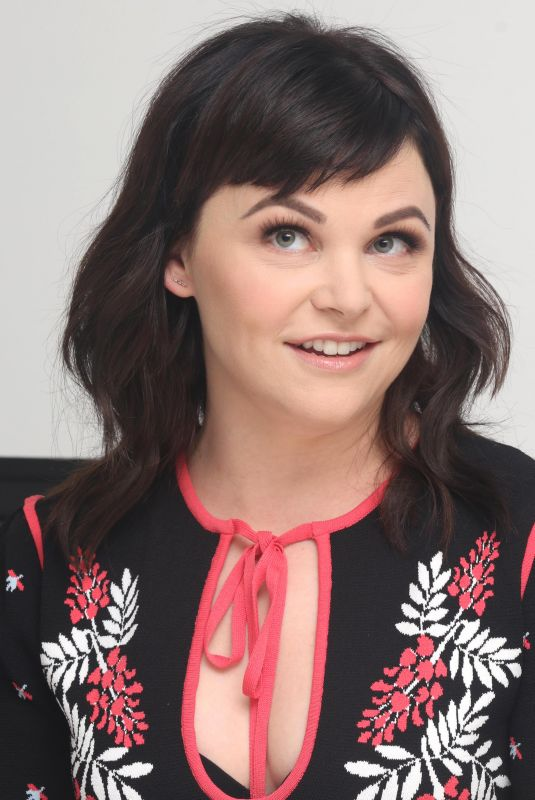 GINNIFER GOODWIN at Why Women Kill Press Conference in Los Angeles 08/07/2019