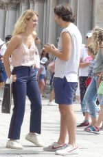 GRACE VAN PATTEN and Nat Wolff Out in Venice 07/29/2019