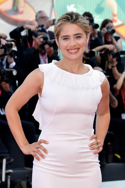 GRETA SCARANO at Marriage Story Premiere at 2019 Venice Film Festival 08/29/2019
