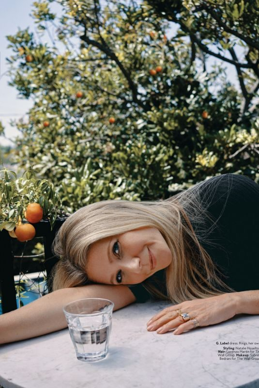 GWYNETH PALTROW in Instyle Magazine, September 2019