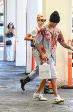 HAILEY and Justin BIEBER Out and About in Los Angeles 08/29/2019