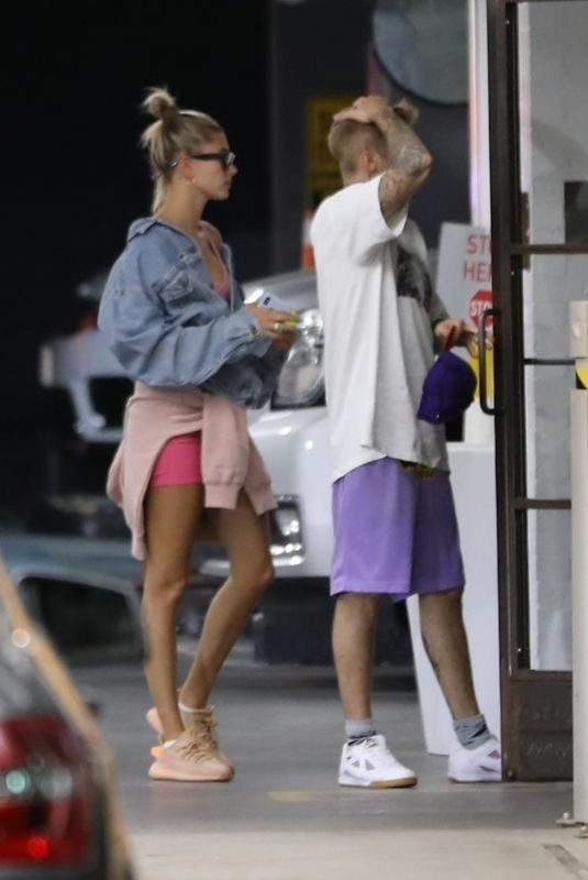 HAILEY and Justin BIEBER Out for Lunch at Soho House in West Hollywood 08/18/2019