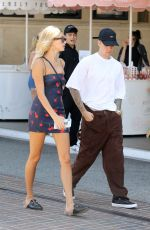 HAILEY and Justin BIEBER Shopping at The Grove in Los Angeles 08/11/2019