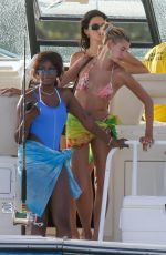 HAILEY BIEBER, KENDALL JENNER and JUSTINE SKYE in Bikinis in Jamaica 08/26/2019