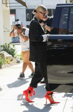 HAILEY BIEBER Out for Lunch at Zinque in West Hollywood 08/21/2019