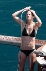 HANNAH BAGSHAWE in Bikini on Vacation in Positano 08/23/2019