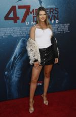 HANNAH CUTTER at 47 Meters Down: Uncaged Premiere in Los Angeles 08/13/2019