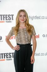 HANNAH KASULKA at Frightfest at Cineworld Leicester Square in London 08/24/2019