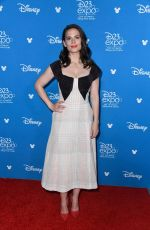 HAYLEY ATWELL at D23 Disney+ Event in Anaheim 08/23/2019