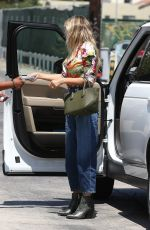 HEIDI KLUM Out and About in Los Angeles 08/23/2019