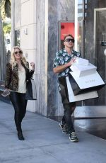 HEIDI MONTAG Shopping at Gucci in Beverly Hills 08/09/2019