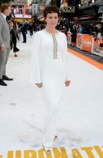 HELEN MCCRORY at Once Upon A Time in Hollywood Premiere in London 07/30/2019