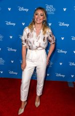 HILARY DUFF at D23 Disney+ Event in Anaheim 08/23/2019