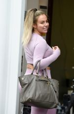HOLLY HAGAN Out and About in Liverpool 08/28/2019