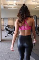 HOPE BEEL at a Gym - Instagram Photos and Video 08/21/2019