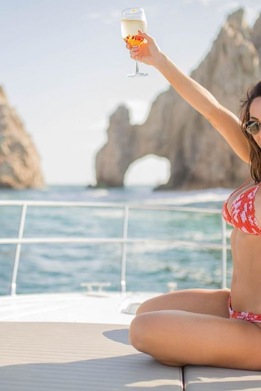HOPE BEEL in Bikini at a Boat  – Instagram Photos and Video 08/06/2019