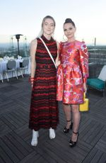 HUNTER SCHAFER at Instyle's Badass Women Dinner with Foster Grant in West Hollywood 08/13/2019