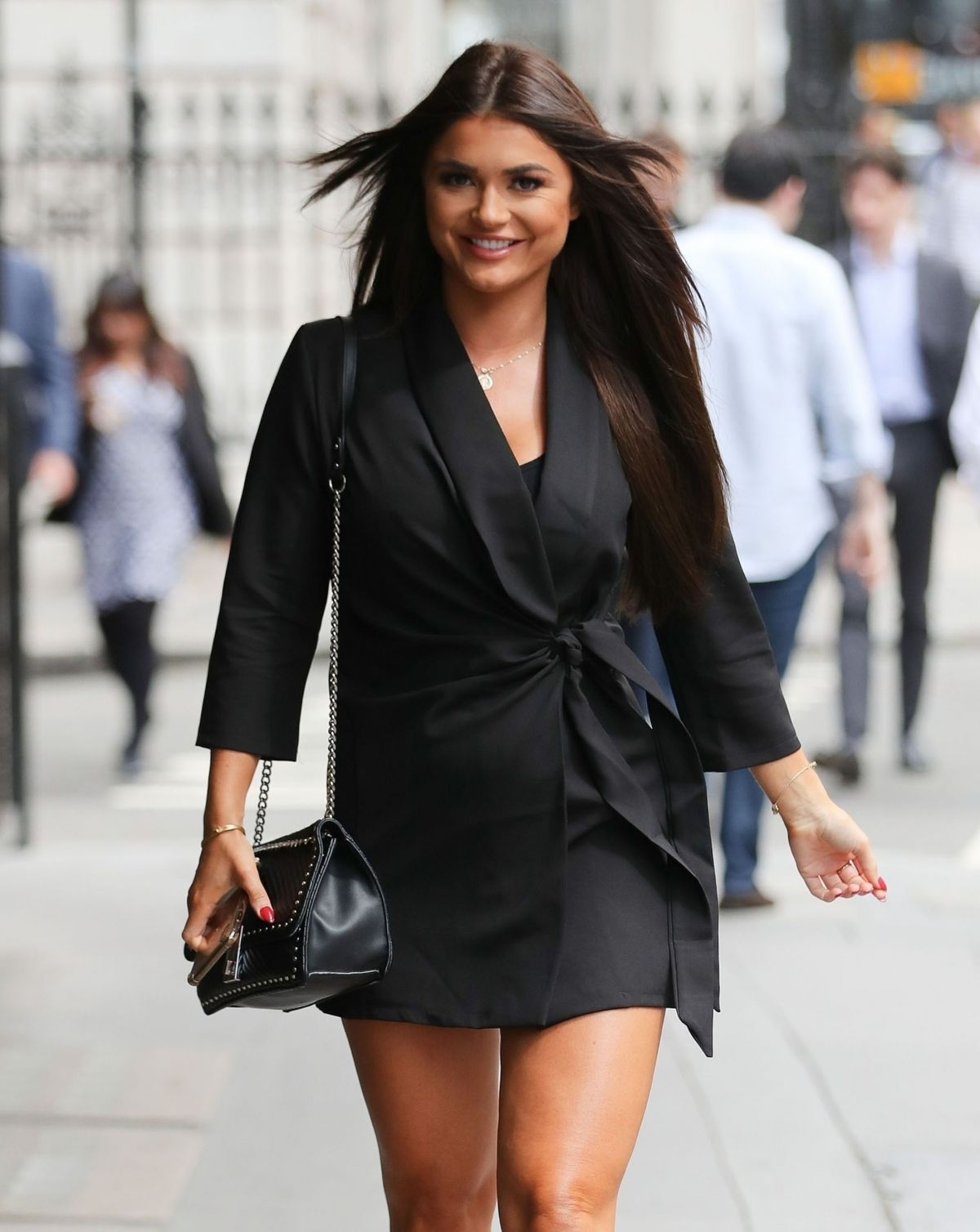 India Reynolds Arrives At Cecconi S Restaurant In London