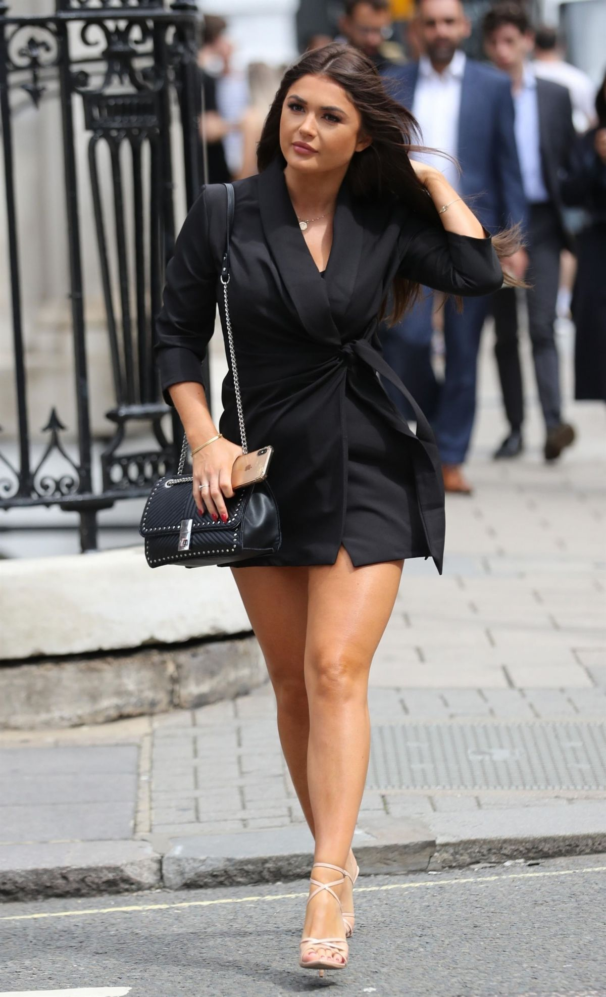 India Reynolds Arrives At Cecconi S Restaurant In London 08 15 2019
