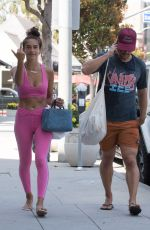 ISABEL PAKZAD Leaves a Gym in Los Angeles 08/06/2019