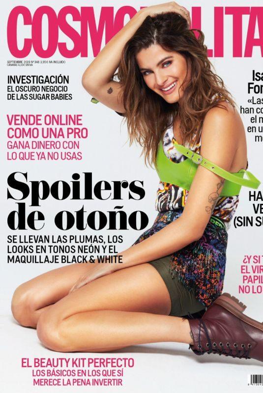 ISABELI FONTANA in Cosmopolitan Magazine, Spain September 2019