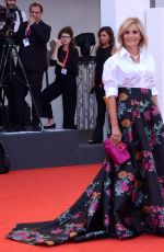 ISABELLA FERRARI at The Truth Screening at 76th Venice Film Festival 08/28/2019