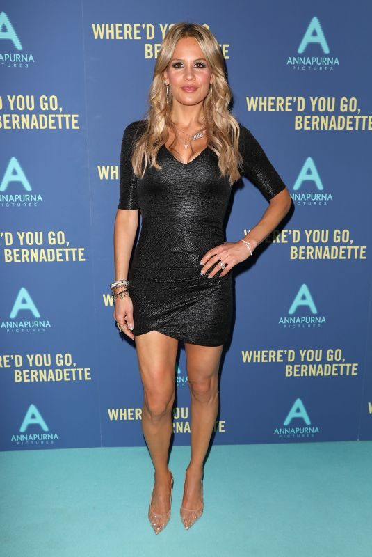 JACKIE GOLDSCHNEIDER at Where'd You Go Bernadette Screening in New York 08/12/2019