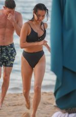 JAMIE CHUNG in Bikini on the Beach in Hawaii 08/18/2019