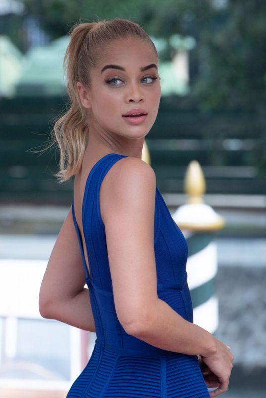 JASMINE SANDERS at Hotel Excelsior in Venice 08/28/2019