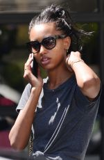JASMINE TOOKES Leaves Gog Pound Gym in West Hollywood 08/20/2019