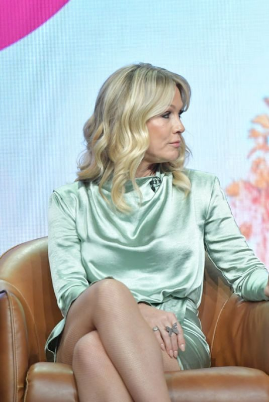 JENNIE GARTH and TORI SPELLING at 2019 Summer TCA Press Tour in Beverly Hills 08/07/2019