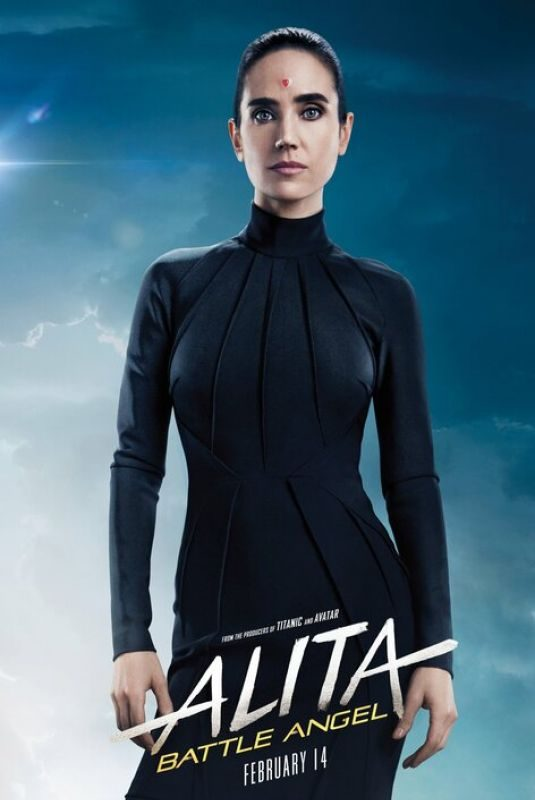 JENNIFER CONNELLY – Alita: Battle Angel 2019 Posters and Trailers