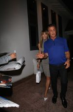 JENNIFER FLANVIN Celebrates Her 51st Birthday with SISTINE, SCARLET, SOPHIA and Silvester STALLONE in Los Angeles 08/14/2019