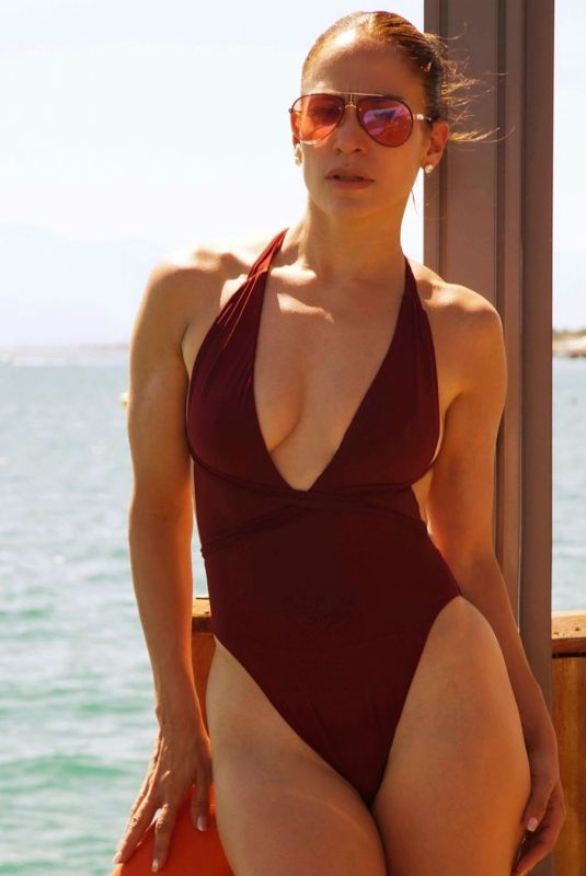 JENNIFER LOPEZ in Bikini and Swimsuit - Instagram Photos, August 2019