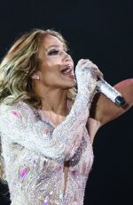 JENNIFER LOPEZ Performs at a Concert in Moscow 08/04/2019