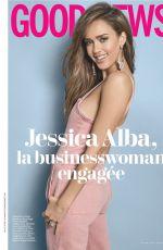 JESSICA ALBA in Cosmopolitan Magazine, France August 2019